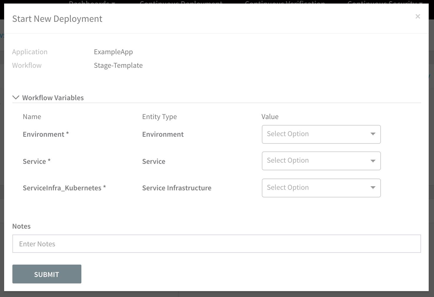 Workflows - Harness io Docs