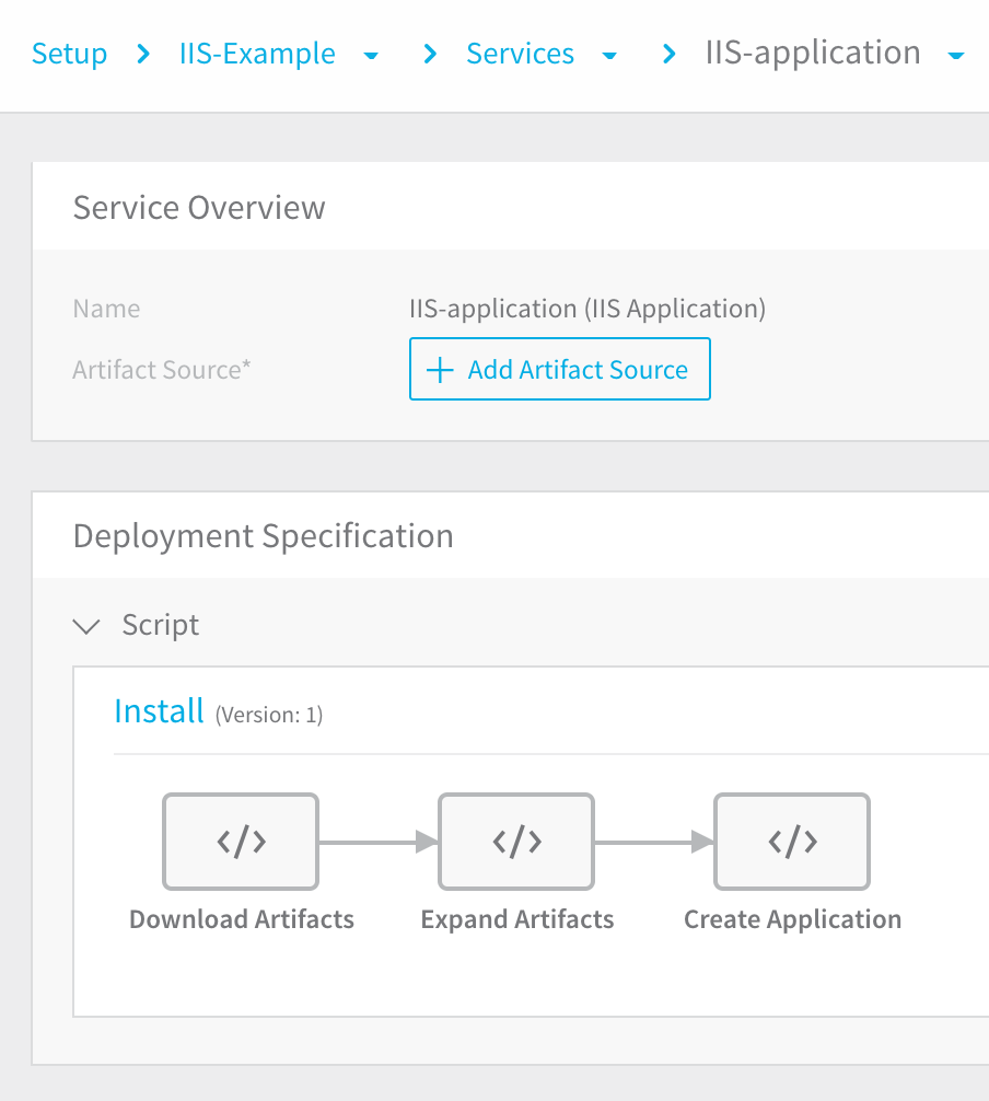 2 - Services for IIS ( NET) - Harness io Docs