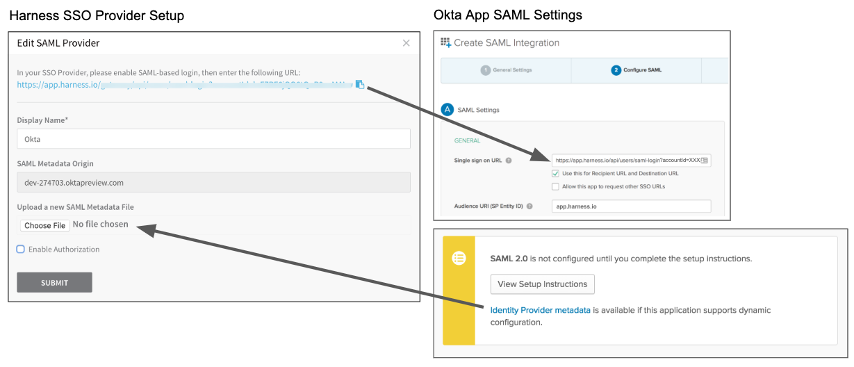 Single Sign-On (SSO) with SAML - Harness io Docs