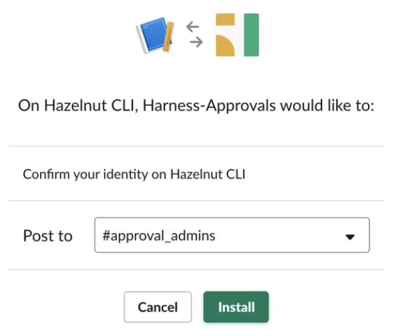 Slack Integration - Harness io Docs
