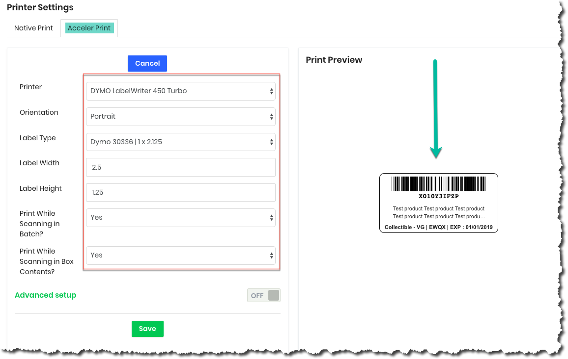 Installing AccelerPrint - AccelerList