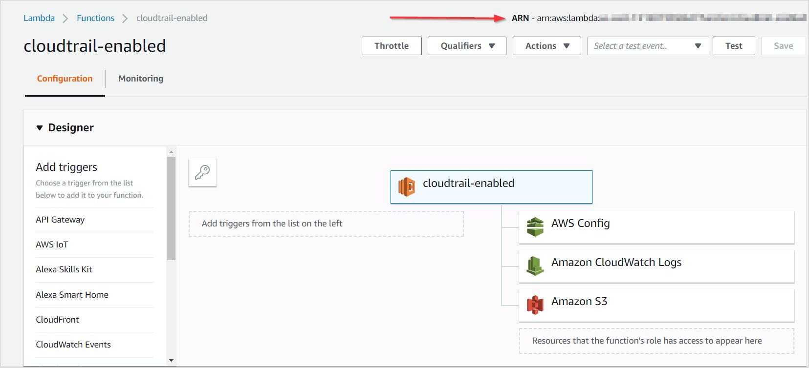 Sending CloudTrail Alerts to Lambda Functions - CloudCheckr Success
