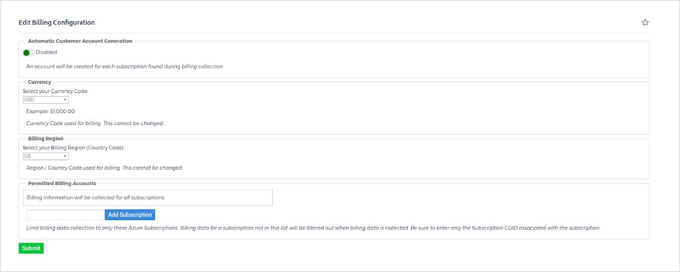 Configure a CSP Account [Legacy] - CloudCheckr Success Center