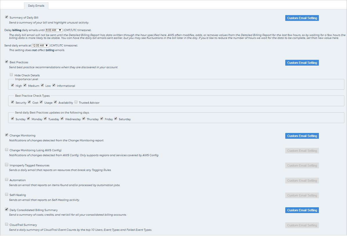 Configure Notifications in CloudCheckr - CloudCheckr Success
