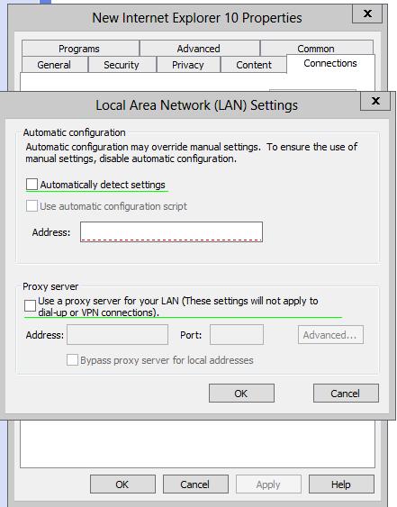 Deploying Web Browser proxy settings - Help :: Unified