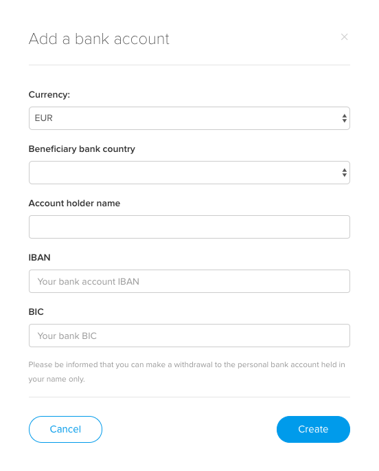 Can I send funds to my GBP bank account? - Cryptopay FAQ