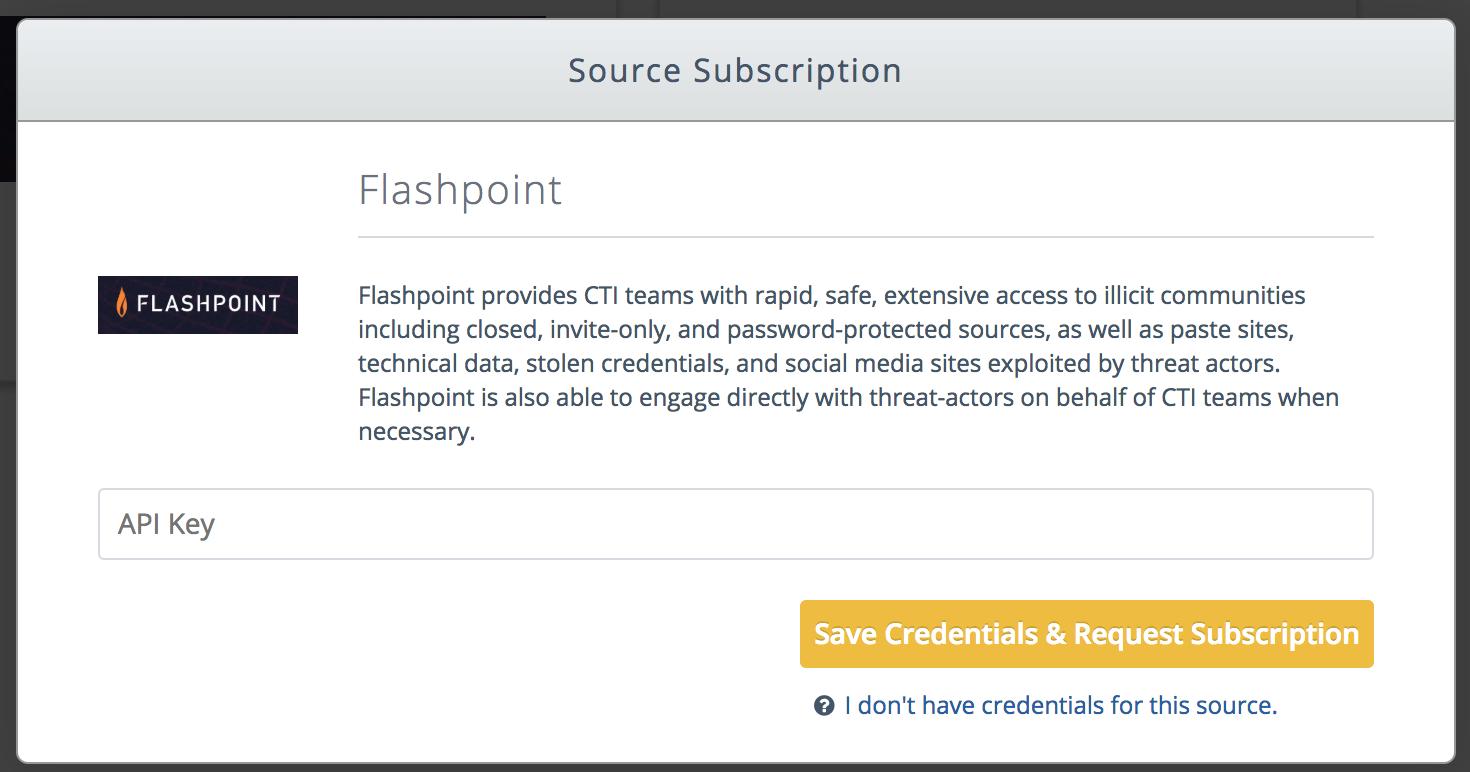 Flashpoint - TruSTAR Knowledge Base