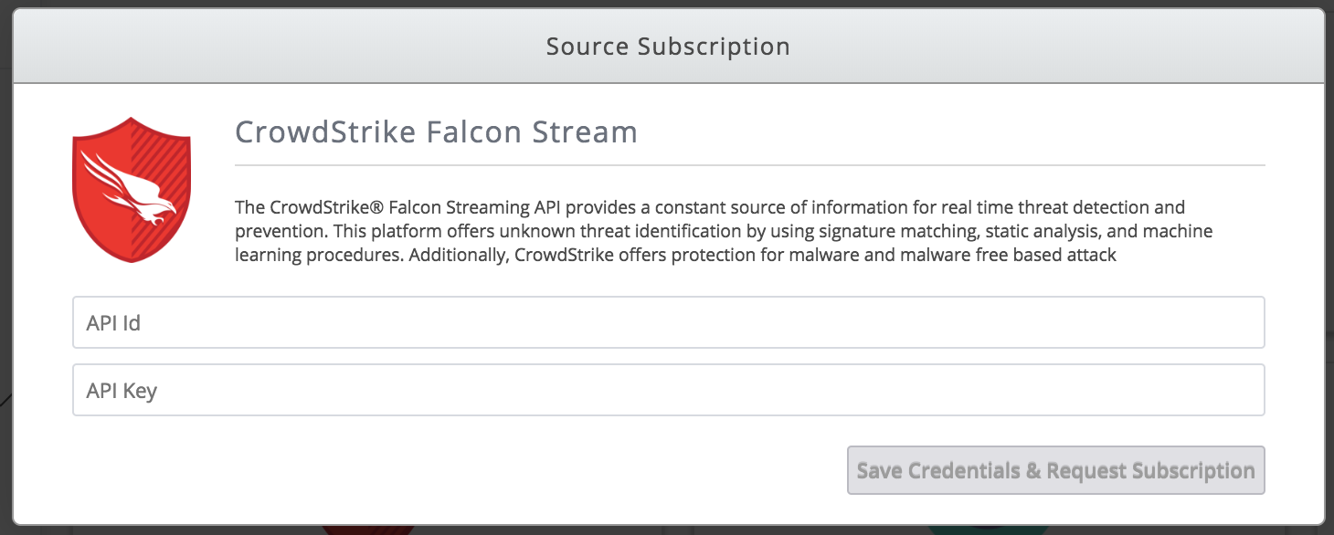 Crowdstrike Falcon Stream - TruSTAR Knowledge Base