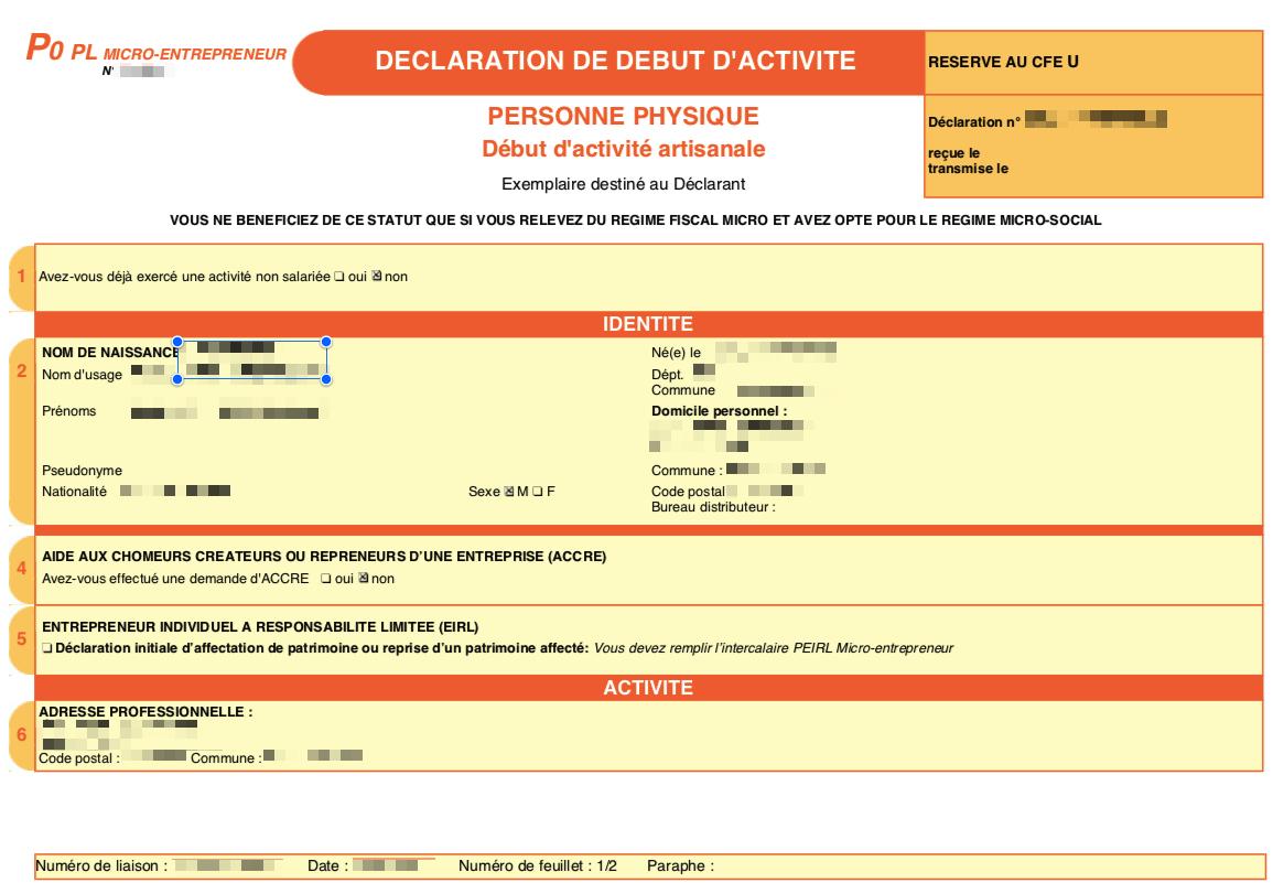 Faq Malt Le Site De L Insee M Indique Que Mon Auto Entreprise N