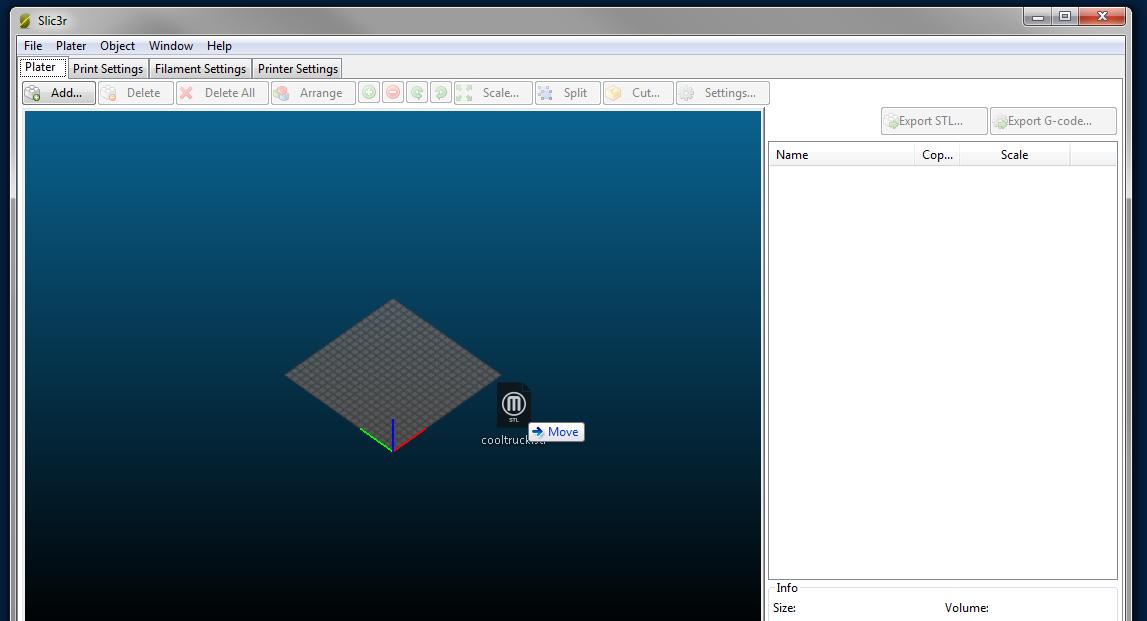 Printing  gcode files with 2Design & Make - 2 Simple and Purple Mash