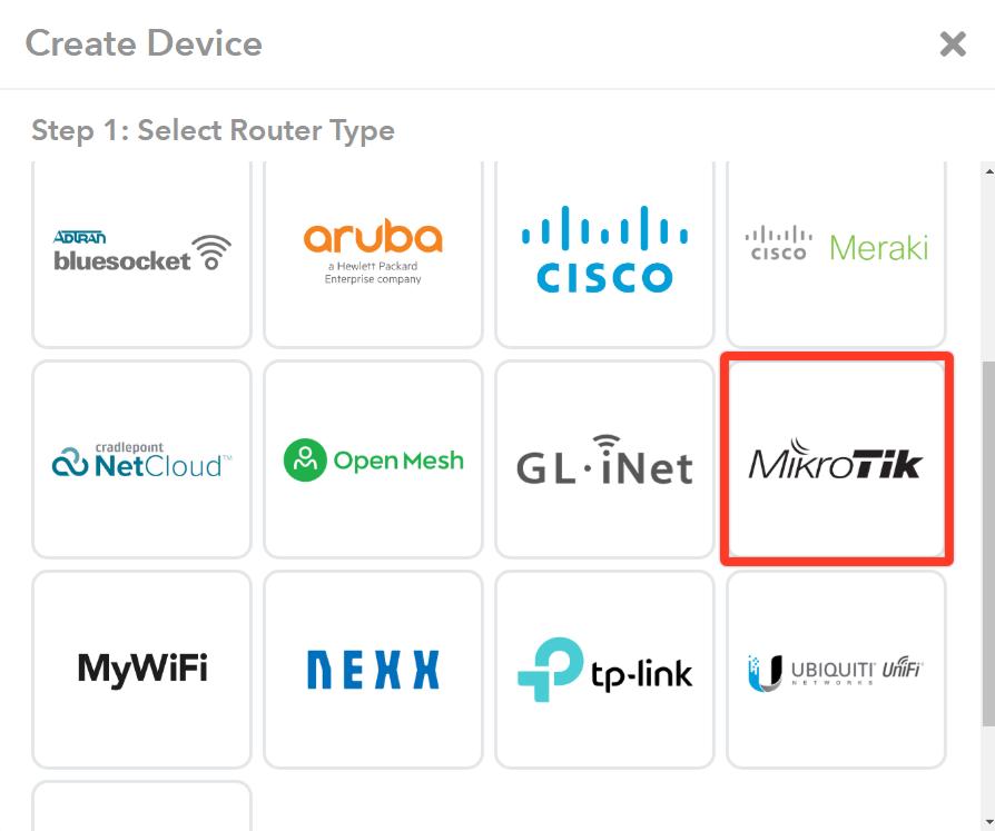 Mikrotik Integration - MyWiFi Networks | Platform Support