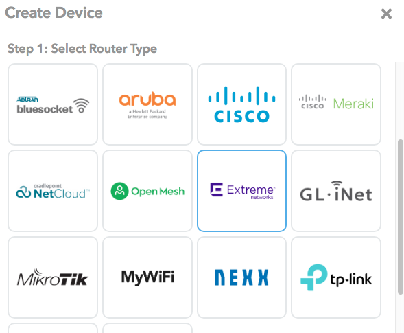 Extreme Networks Cloud Integration - MyWiFi Networks