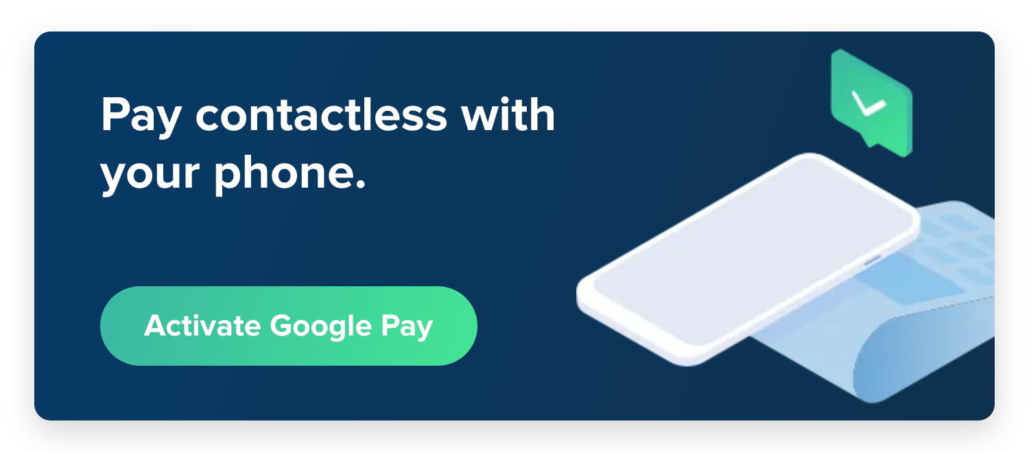 Configuring Google Pay on an Android mobile device - Help