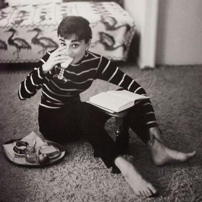 De Audrey Hepburn nos gusta hasta su alimentación