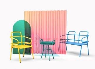 Sillas y mobiliario de colores para los más atrevidos