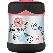 Foogo Vacuum Insulated Food Jar Poppy Patch -