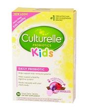 Culturelle Probiotics Kids Berry Chewables -