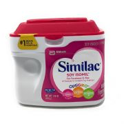 Soy Isomil Infant Formula Powder with Iron for Birth to 12 Months -