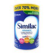Advance Infant Formula w/ Iron for 0-12 Months -