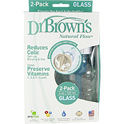 Natural Flow Glass Bottle -