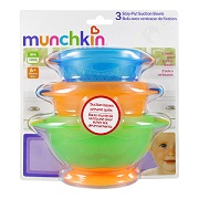 Stay-Put Suction Bowls -
