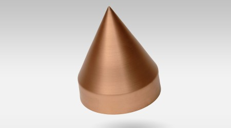 View large image of cone of copper