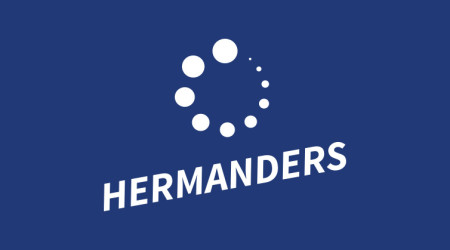 Hermanders nya logotyp
