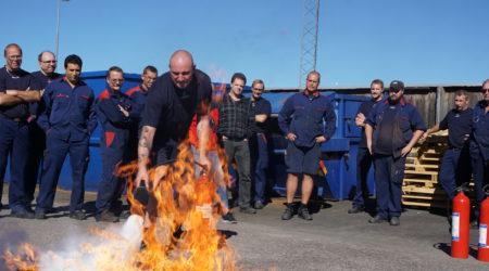 Brandutbildning, Hermanders
