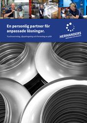 Framsidan av Hermanders broschyr