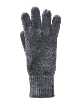 Wool Knitted Finger (Charcoal)