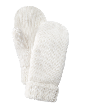 Cosy Knit Mitten (Offwhite)