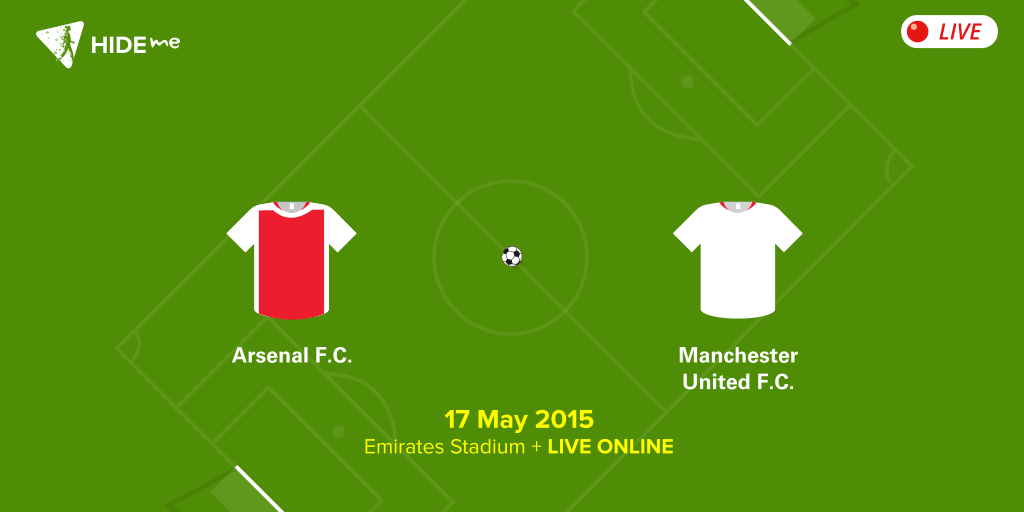 Arsenal vs. Manchester United Live Online