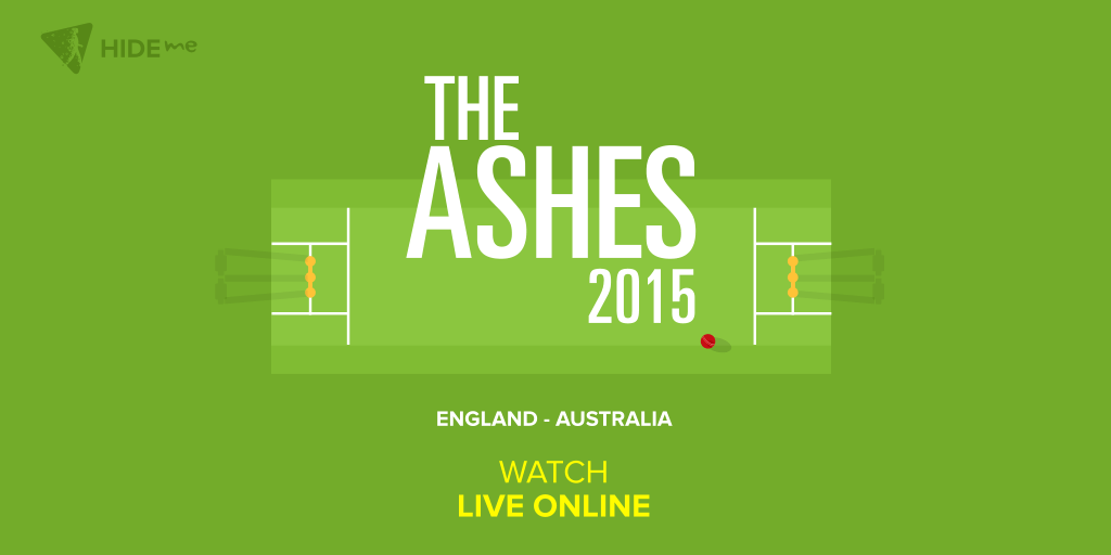 Watch The Ashes Live Online