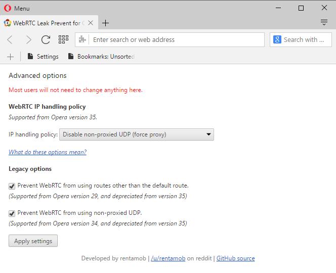 webrtc-ip-handling 1