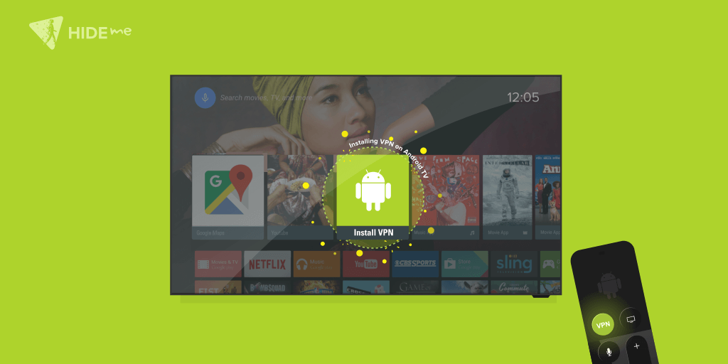 Installing hide.me VPN Manually On Android TV