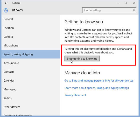 How to disable a Keylogger in Windows 10 Step 3