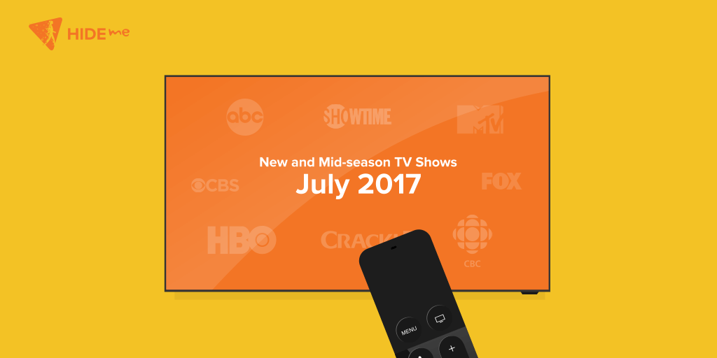 New and Mid-Season TV Shows coming in July