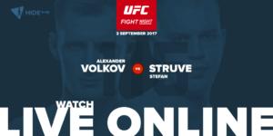 Struve vs. Volkov Fight live online