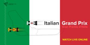 Italian Grand Prix Live Online