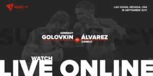 Gennady Golovkin (c) vs. Canelo Alvare live online