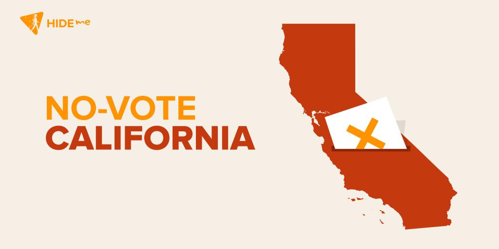 California Lawmakers say no to Privacy Bill