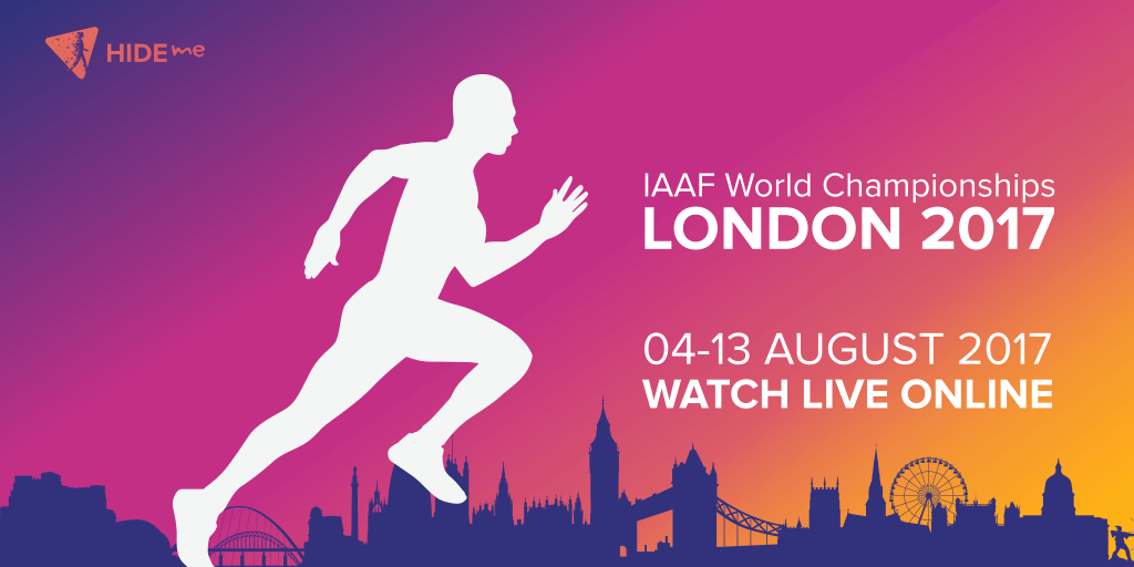 World Championship in Athletics live online