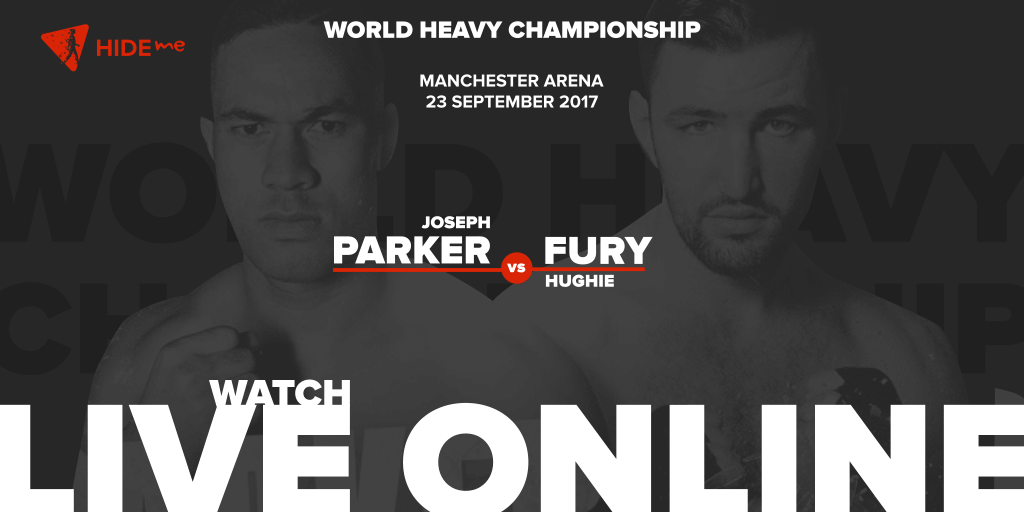 Joseph Parker vs Hughie Fury live online