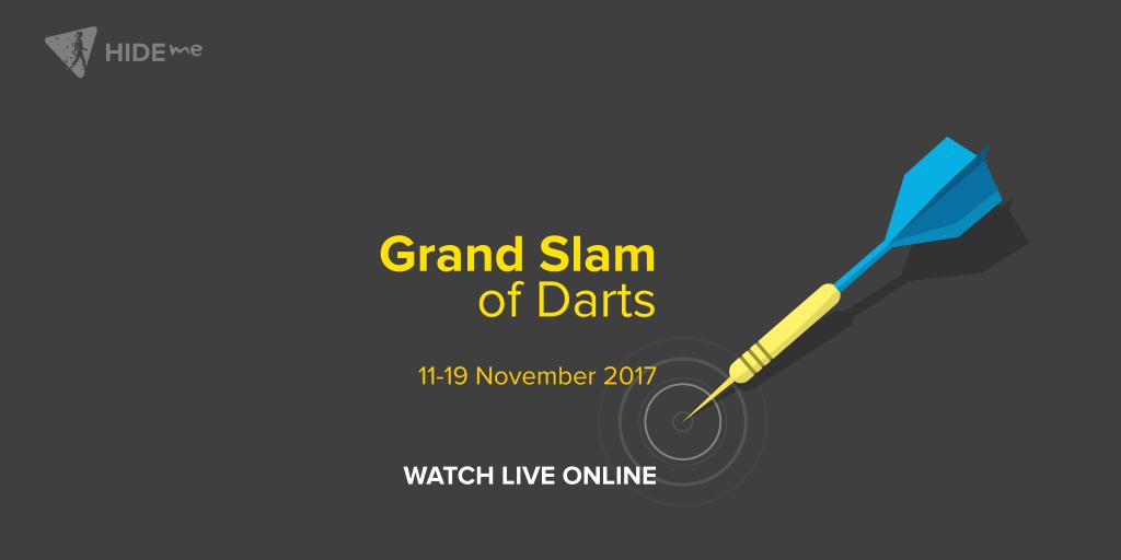Grand Slam of Darts Championship live online