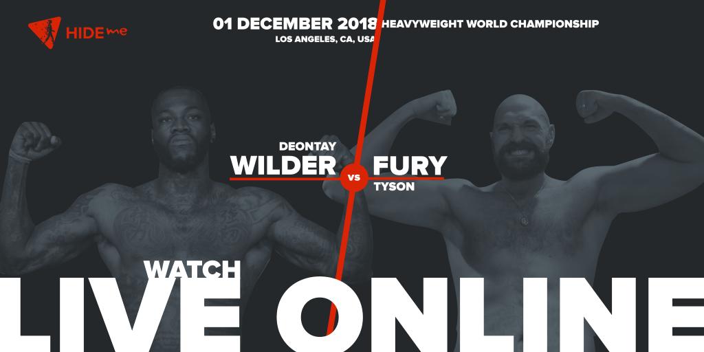Deontay Wilder vs Tyson Fury Live Online