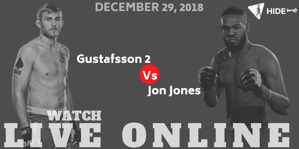 Jones vs. Gustafsson 2 Live Online