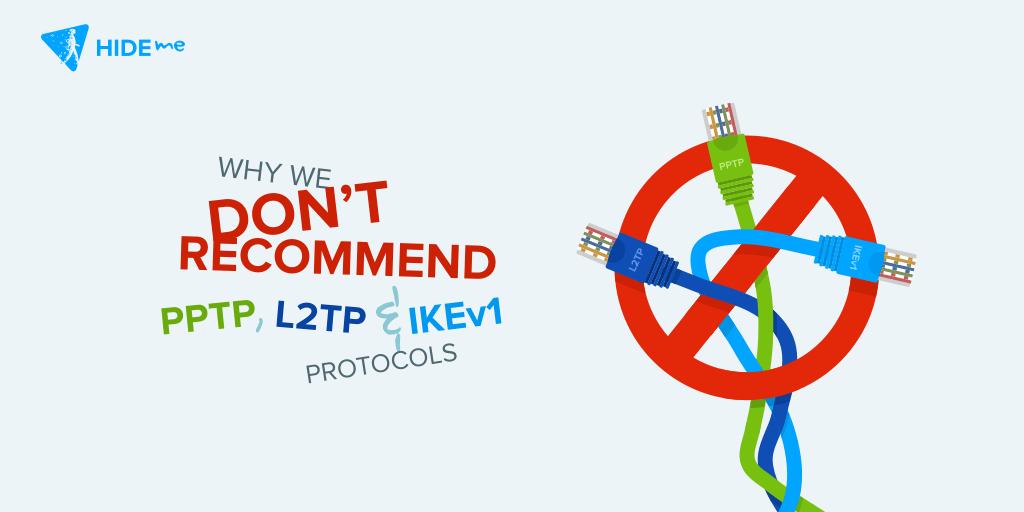 PPTP, L2TP & IKEv1
