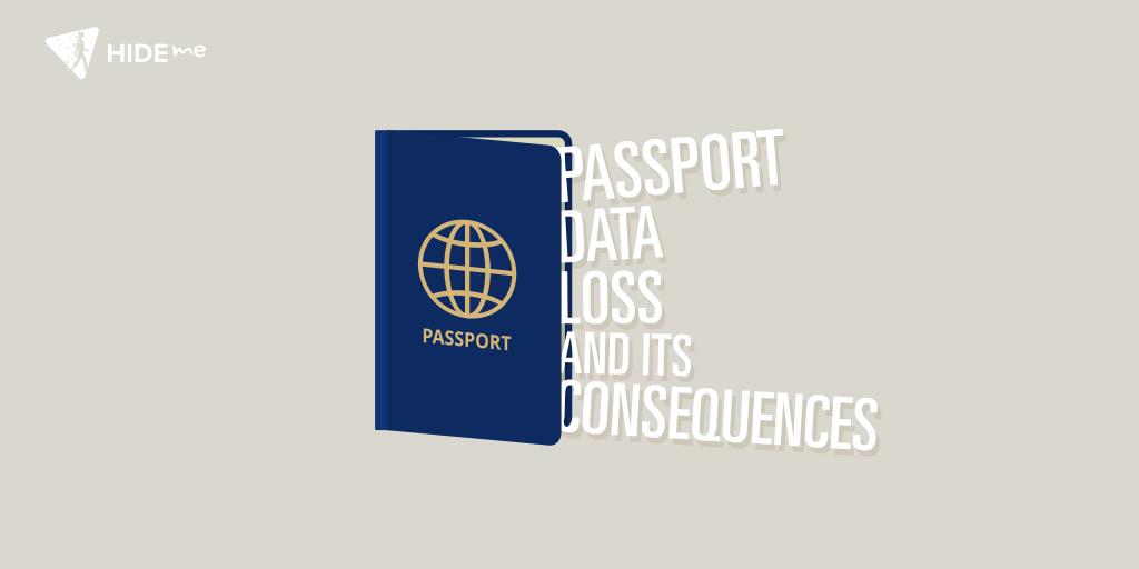 Passport data loss