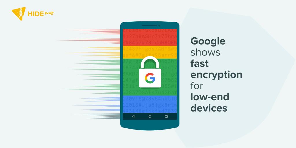 Google Fast encryption