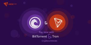 BitTorrent & Tron Cryptocurrency